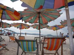 Beach chairs, Thailand