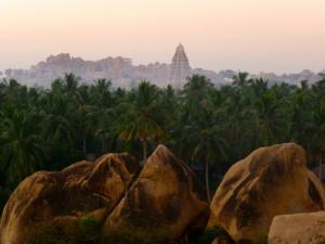 The Virupaksha Temple, Hampi