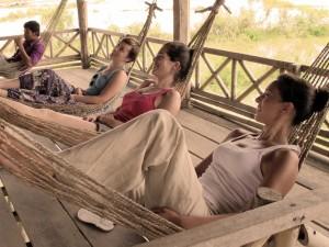 A Cambodian siesta