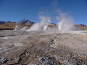 Tatio Geysers, 4000m above sea level – Atacama Desert